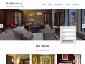 WordPress Theme Hotel Hamburg
